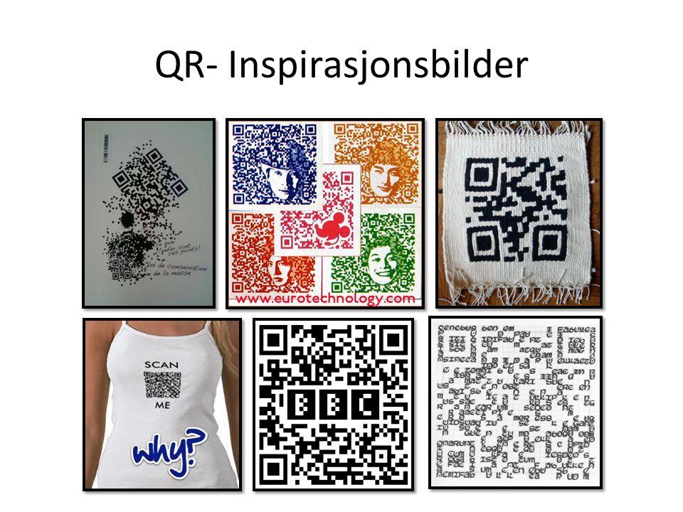 QR- Inspirasjonsbilder