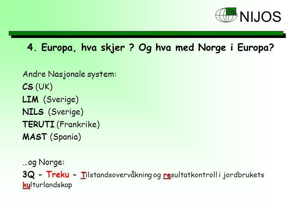 4.Europa, hva skjer . Og hva med Norge i Europa.