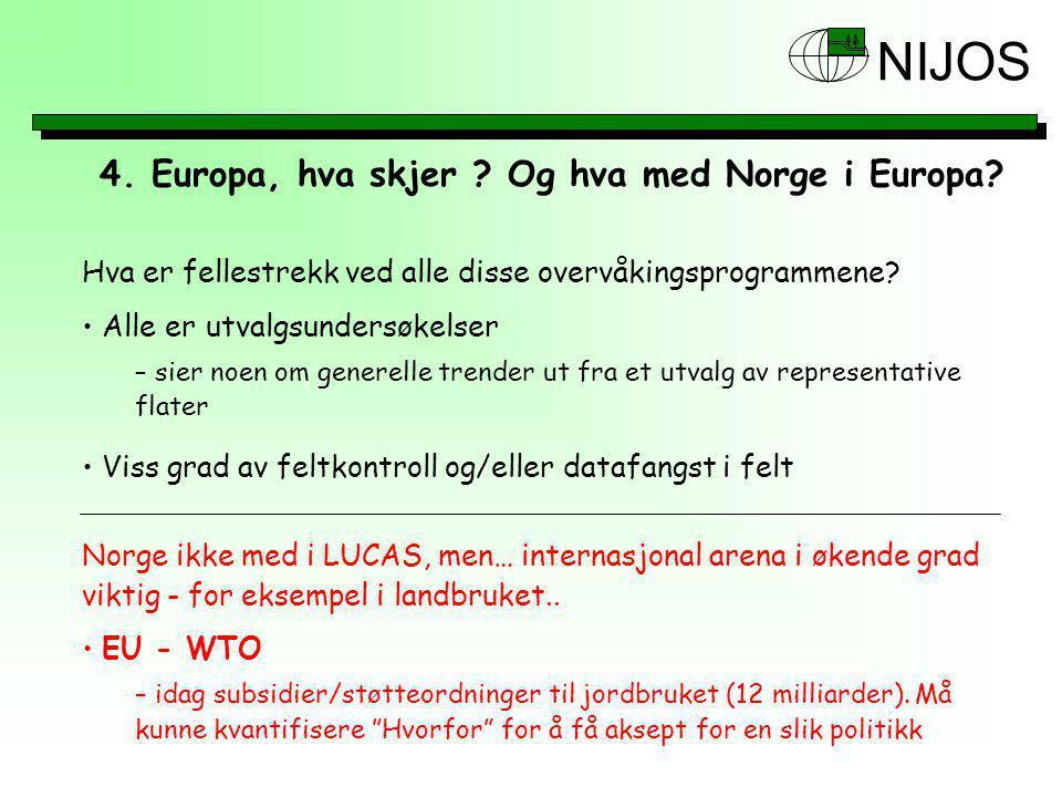 NIJOS 4.Europa, hva skjer . Og hva med Norge i Europa.