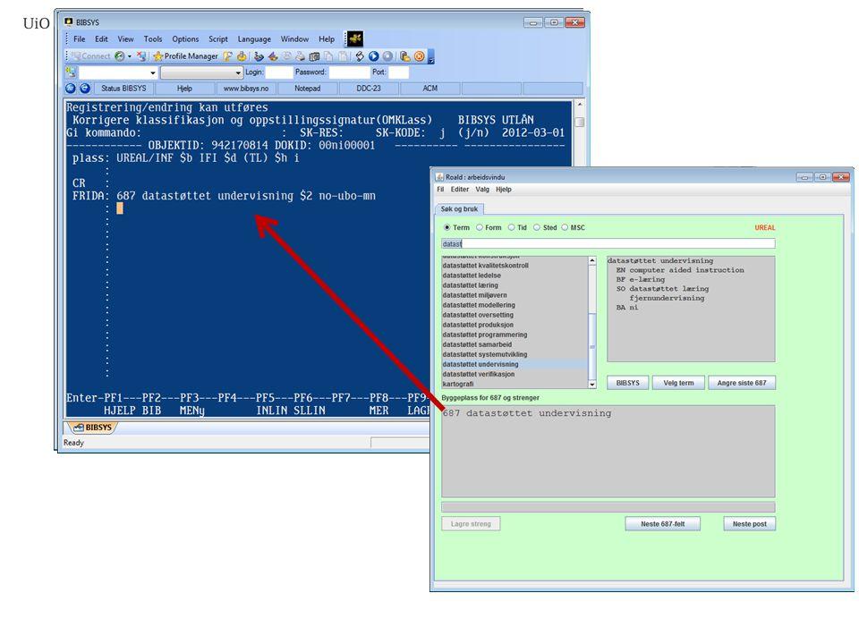 Roald websøk BIBSYS SNL Wikipedia API .