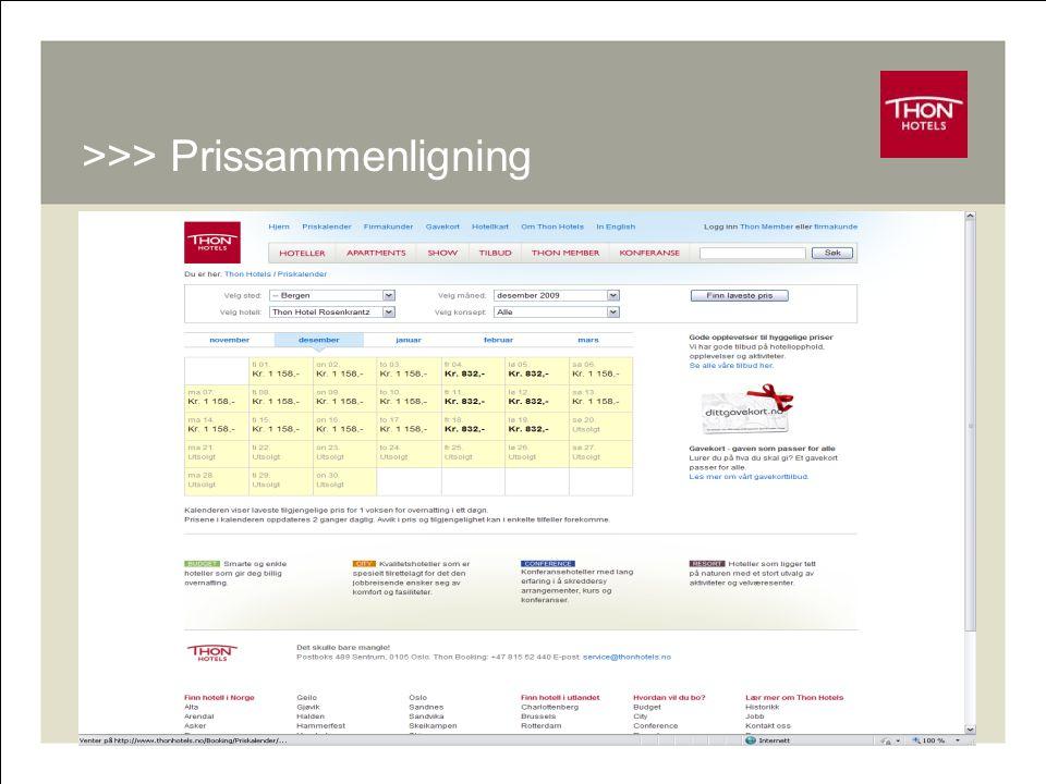 RM - Online 9 >>> Prissammenligning
