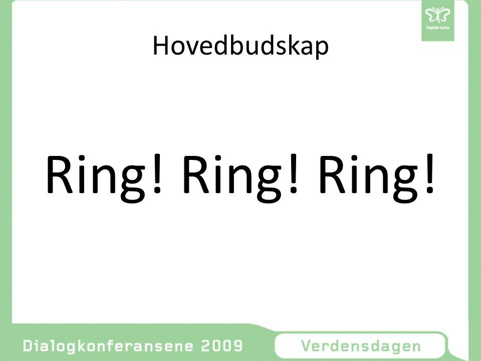 Hovedbudskap Ring! Ring! Ring!