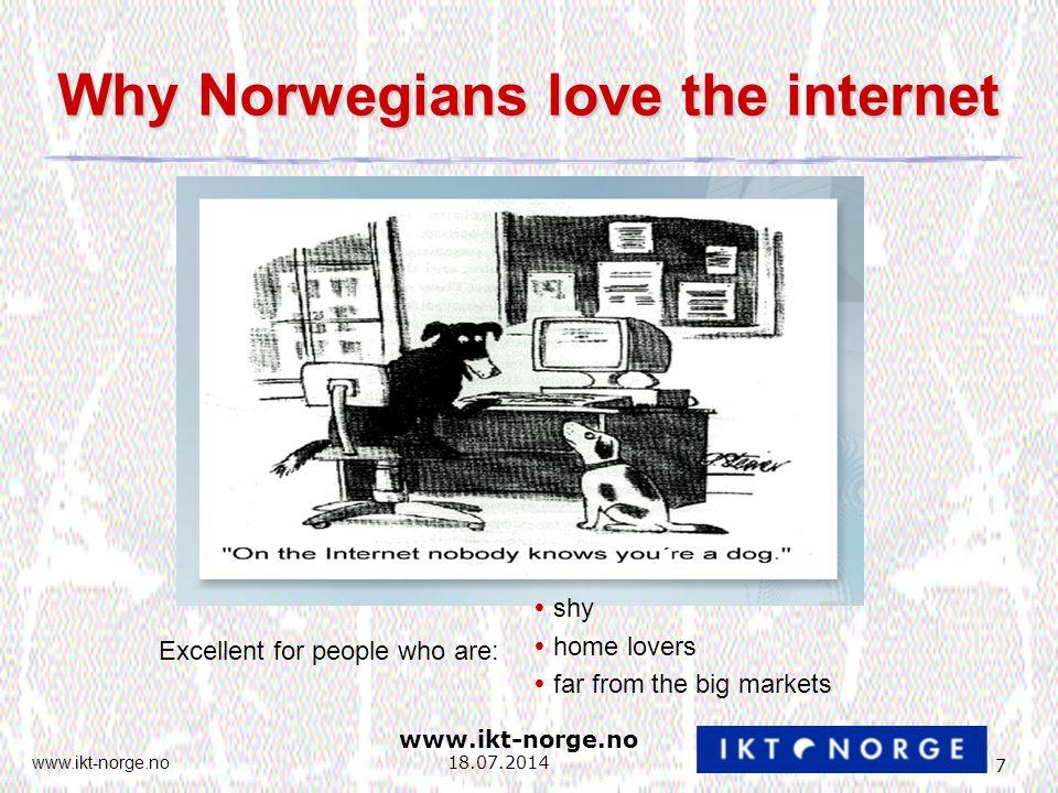 www.ikt-norge.no 28 18.07.2014 Bedre rammevilkår (III) 7.