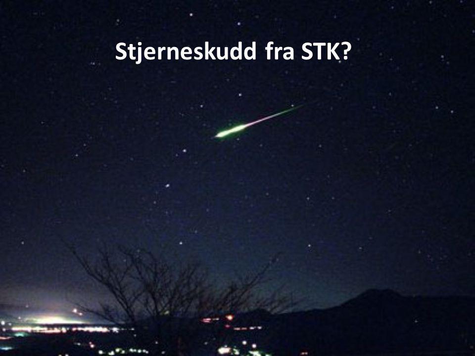 Stjerneskudd fra STK?