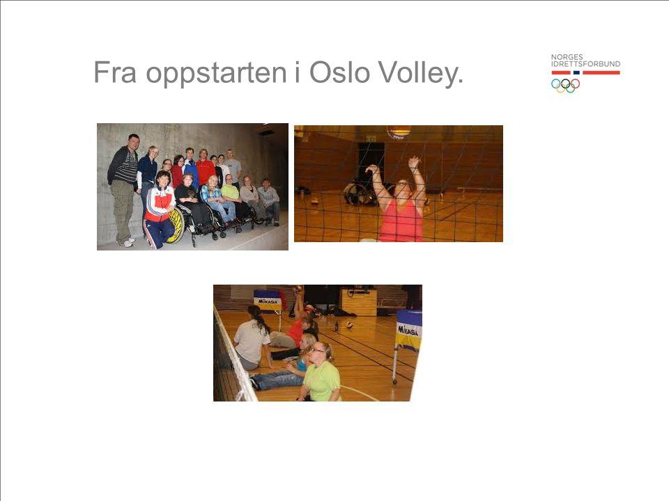 Fra oppstarten i Oslo Volley.