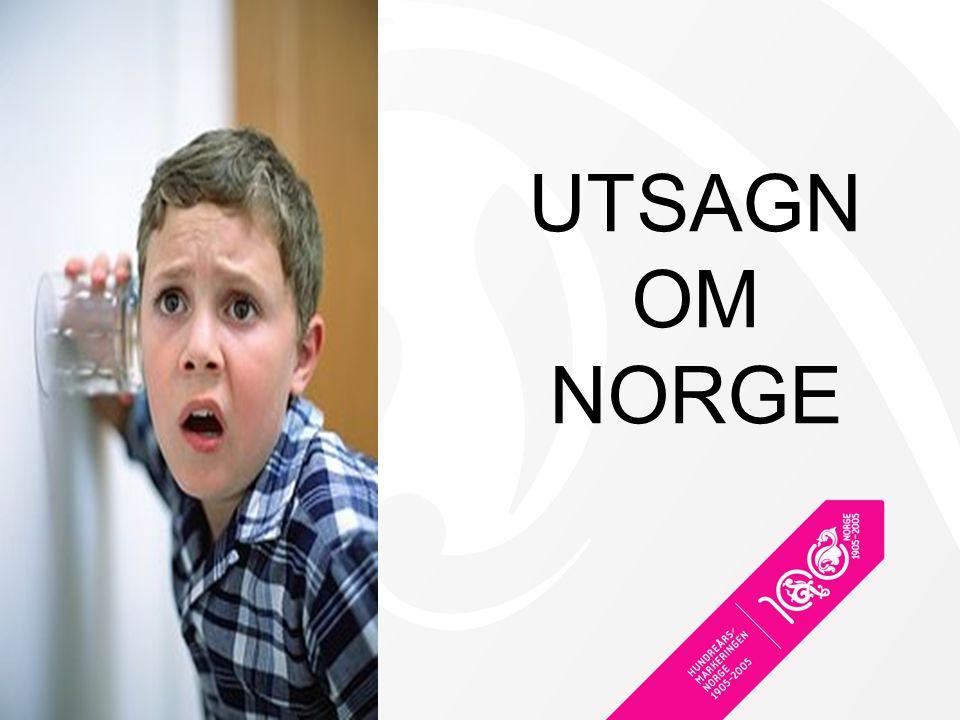 UTSAGN OM NORGE