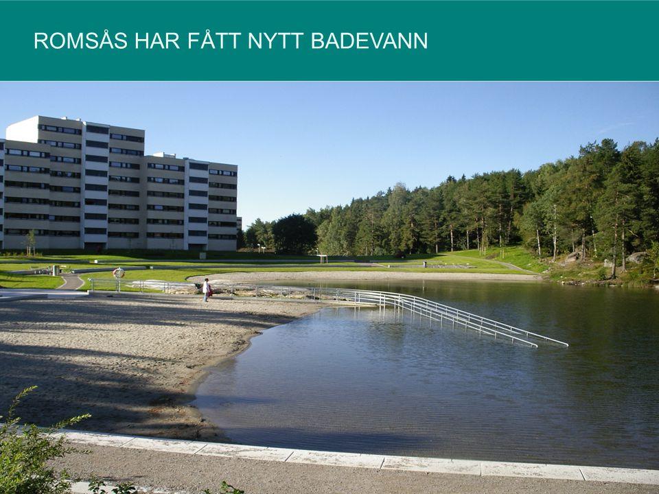ROMSÅS HAR FÅTT NYTT BADEVANN 12540535092