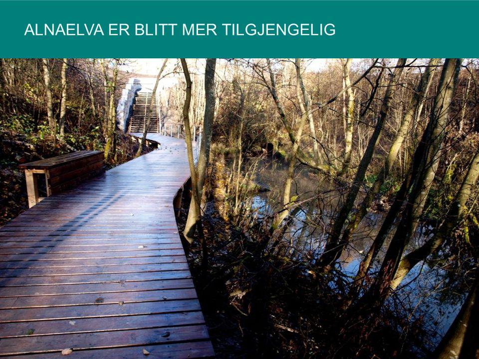 ALNAELVA ER BLITT MER TILGJENGELIG 12540535092