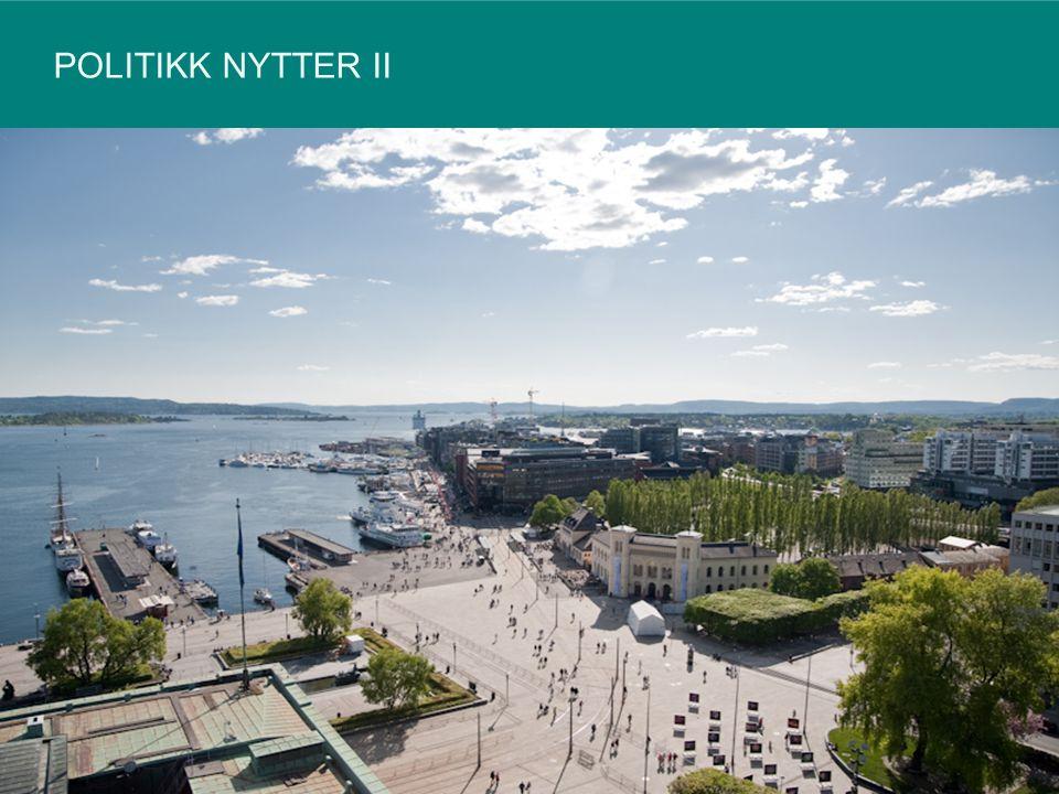 OSLO BRUKER 80 MILLIONER KRONER PÅ Å FJERNE TAGGING 12540535092
