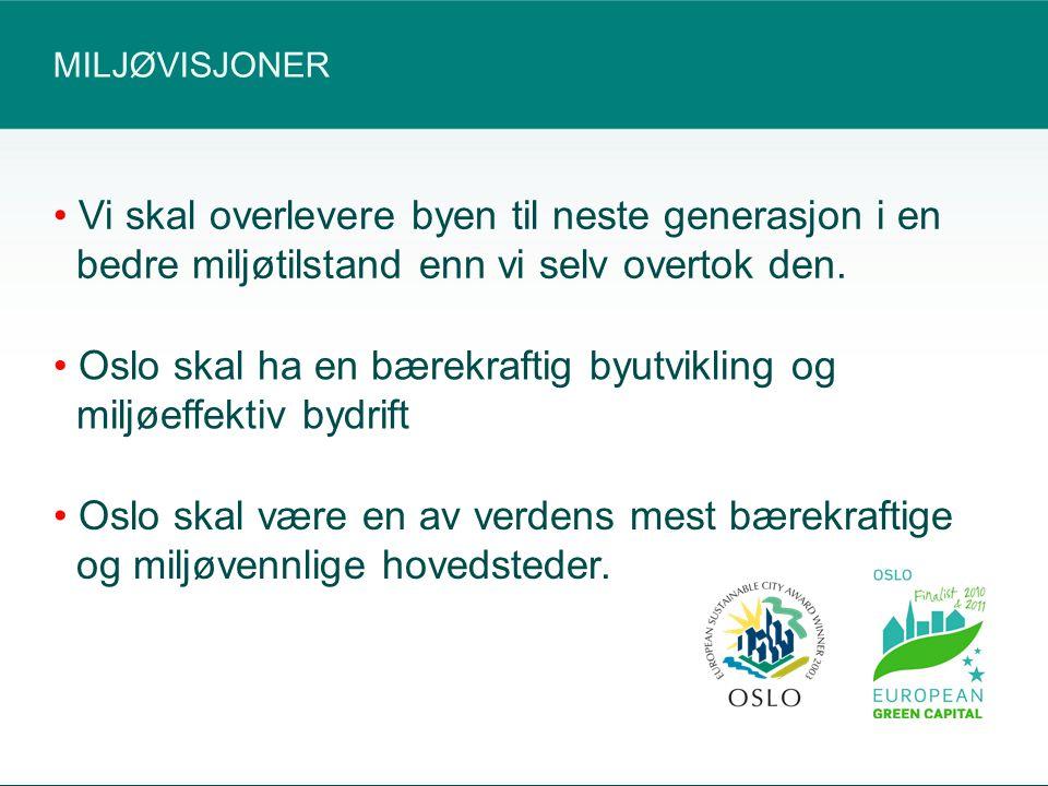 OSLOS GRØNNE BØLGE RULLER VIDERE