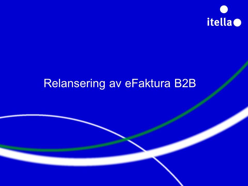 Relansering av eFaktura B2B