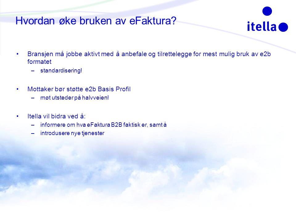 Hvordan øke bruken av eFaktura.