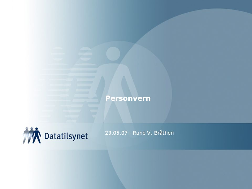 Konklusjon : Personopplysningsloven kommer neppe til anvendelse.