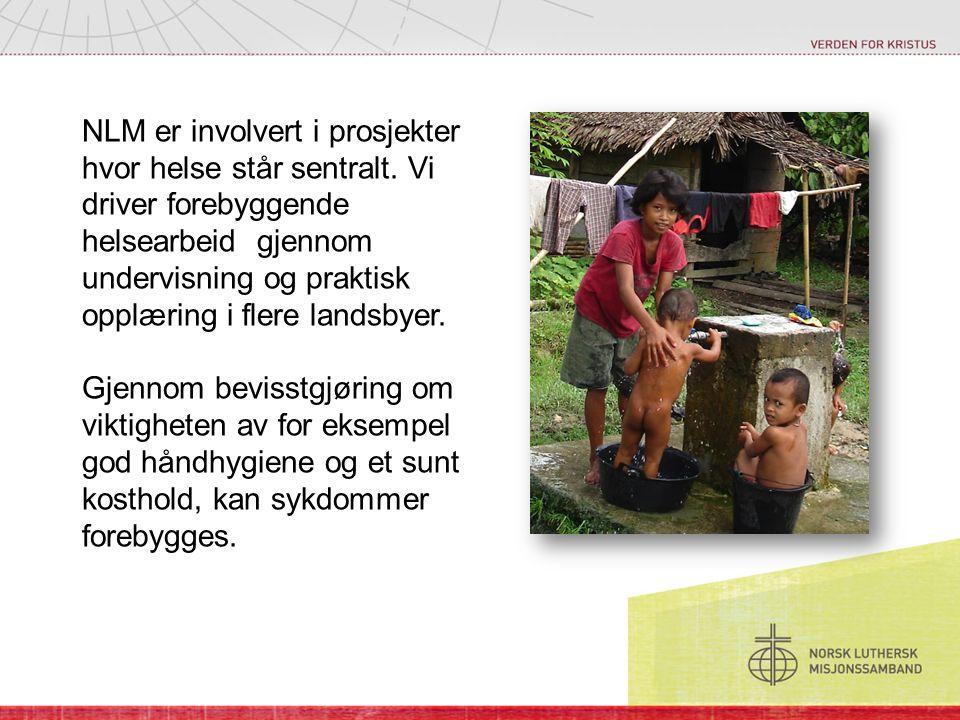 NLM er involvert i prosjekter hvor helse står sentralt.