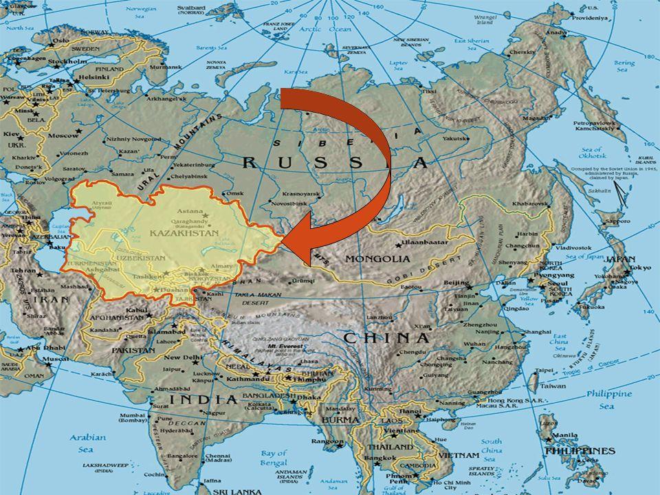 Prosjektene i Sentral-Asia