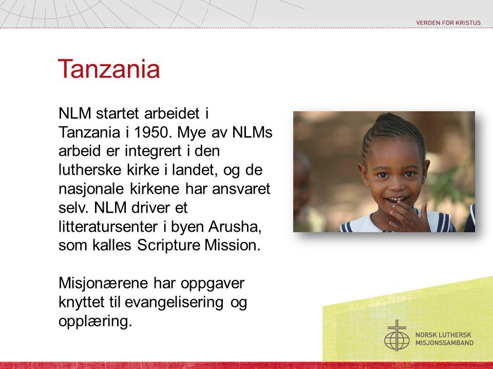 Den lutherske kirken i Tanzania har flere tusen prester og evangelister.