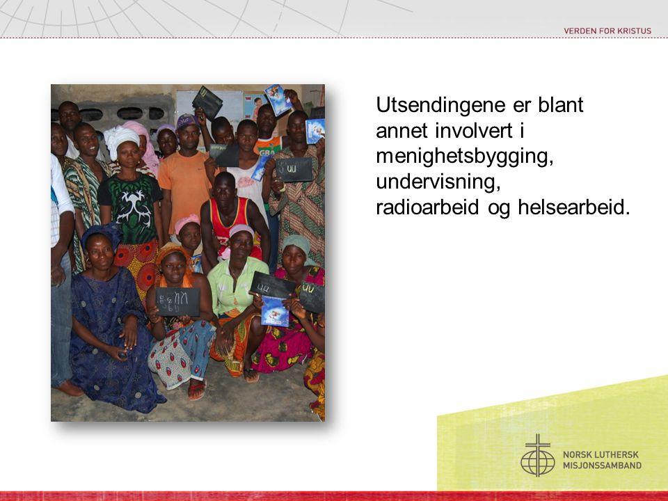 Utsendingene er blant annet involvert i menighetsbygging, undervisning, radioarbeid og helsearbeid.