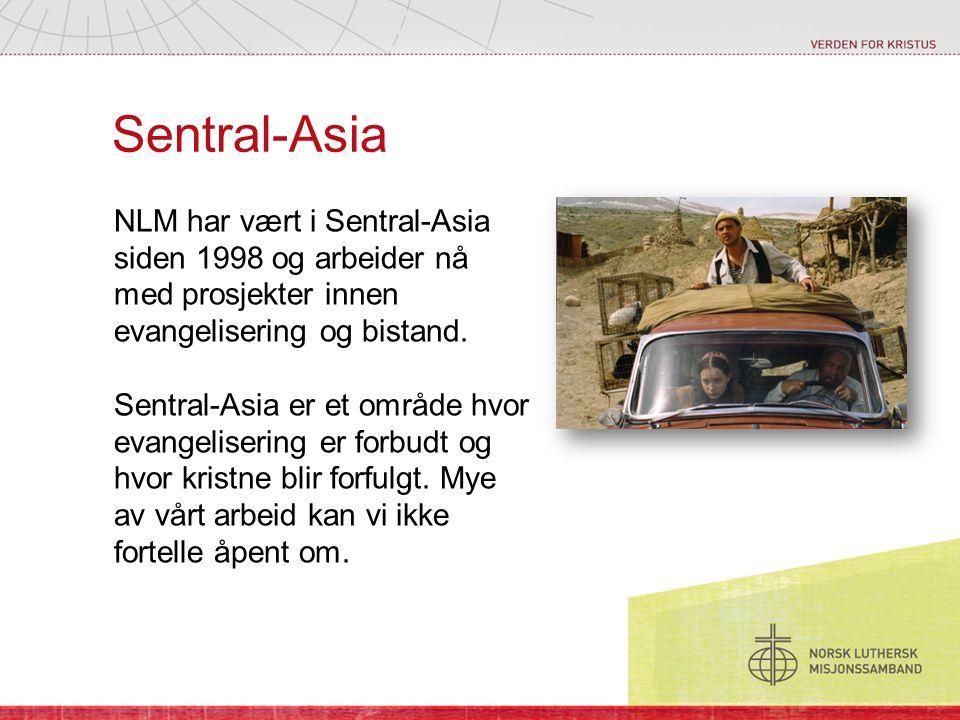 Sentral-Asia NLM har vært i Sentral-Asia siden 1998 og arbeider nå med prosjekter innen evangelisering og bistand.