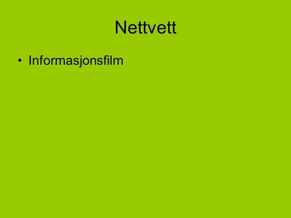 Nettvett Informasjonsfilm