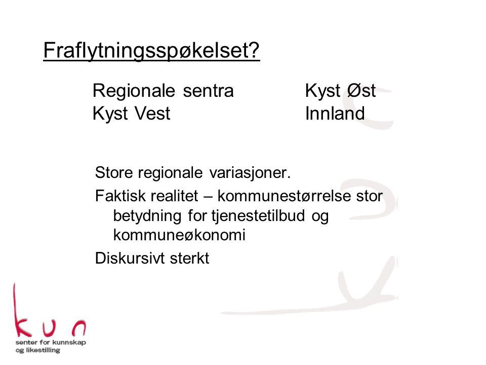 Store regionale variasjoner.