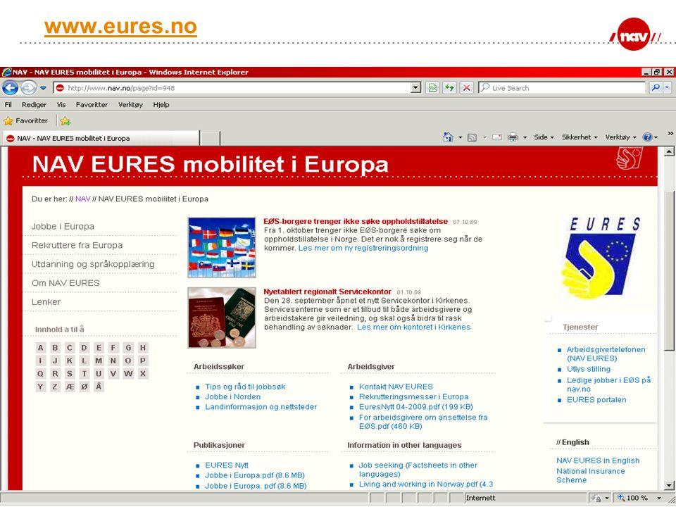 NAV, 18.07.2014Side 6 www.eures.no