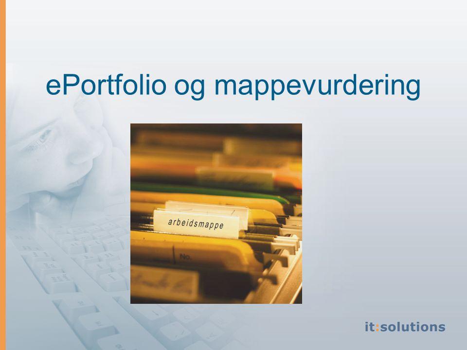 ePortfolio og mappevurdering