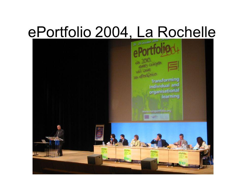 ePortfolio 2004, La Rochelle