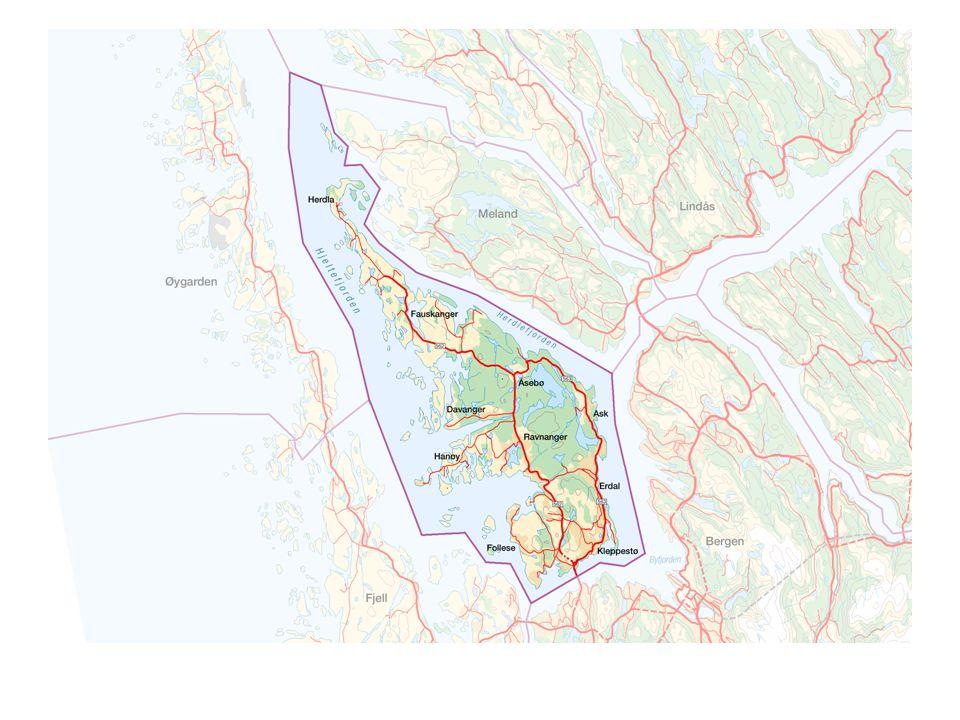 Bakgrunn for bruk av nøkkeltall TERRA-prosjektet – Et EU prosjekt hvor Bergensregionen var en av fem regioner som fokuserte på sammenhengen mellom bærekraftig utvikling og samfunnsområdene: sosial , økonomisk og miljø .