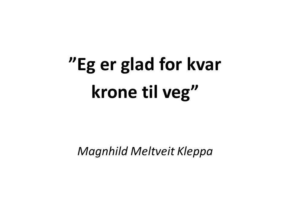 «Det er jo slik at hvis Norge begynner å lånefinansiere veiprosjekter, har vi innrettet oss veldig dumt.» Statsminister Jens Stoltenberg i Stortinget 26.