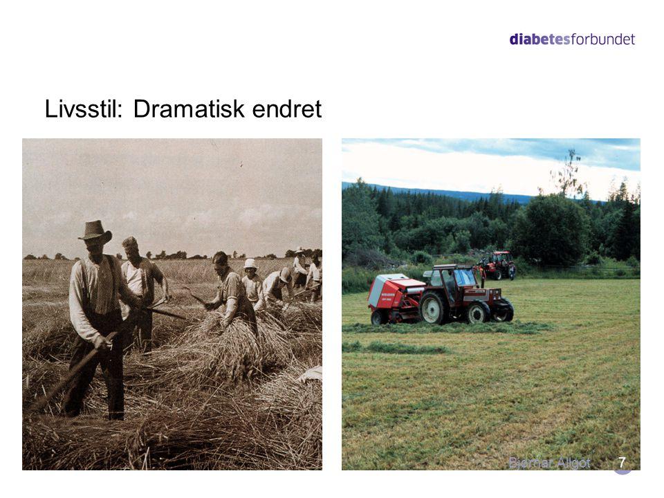 Livsstil: Dramatisk endret 7Bjørnar Allgot
