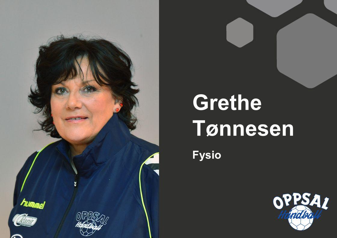 Fysio Grethe Tønnesen