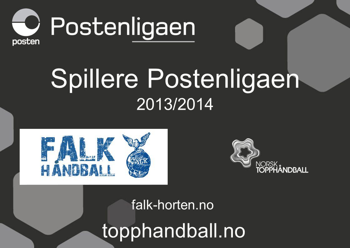 Spillere Postenligaen 2013/2014 falk-horten.no topphandball.no