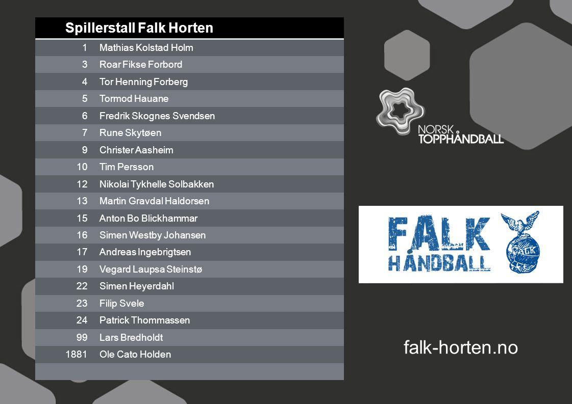 Spillerstall Falk Horten 1Mathias Kolstad Holm 3Roar Fikse Forbord 4Tor Henning Forberg 5Tormod Hauane 6Fredrik Skognes Svendsen 7Rune Skytøen 9Christ