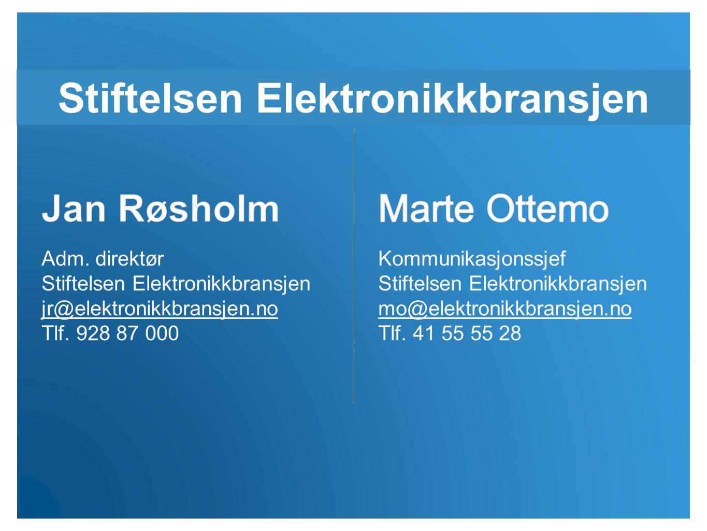 Stiftelsen Elektronikkbransjen