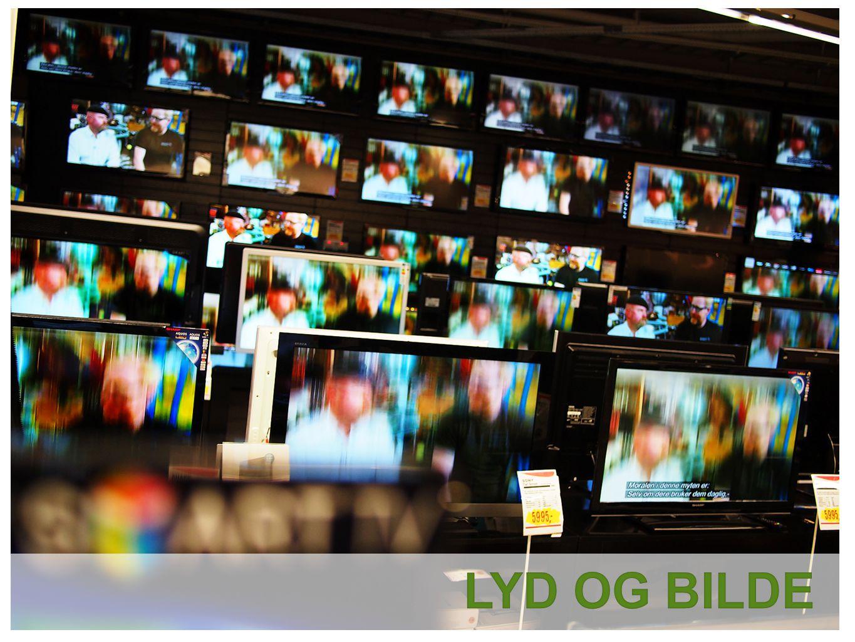 Vi kjøper stadig større TV-er.44-54 er nå den nye folkestørrelsen.