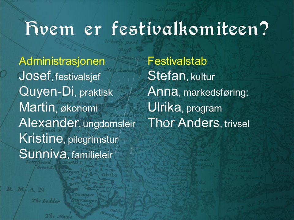 Hvem er festivalkomiteen.