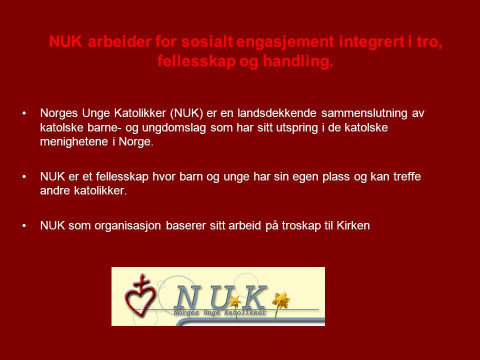 Norges Unge Katolikker (NUK) er en landsdekkende sammenslutning av katolske barne- og ungdomslag som har sitt utspring i de katolske menighetene i Norge.