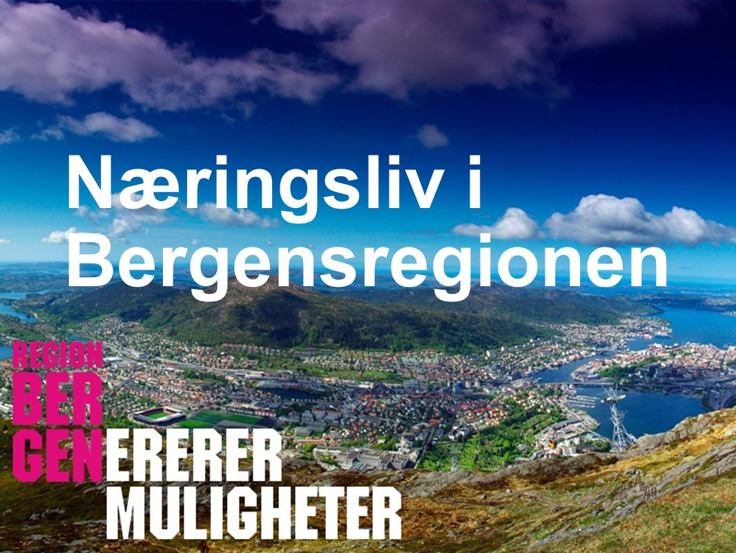 Insert company logo here Næringsliv i Bergensregionen