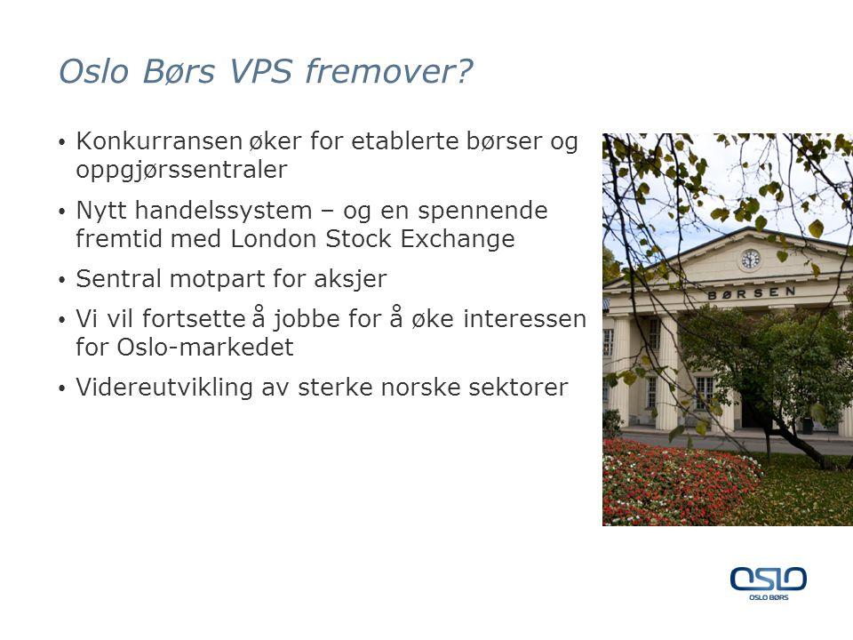 Oslo Børs VPS fremover.
