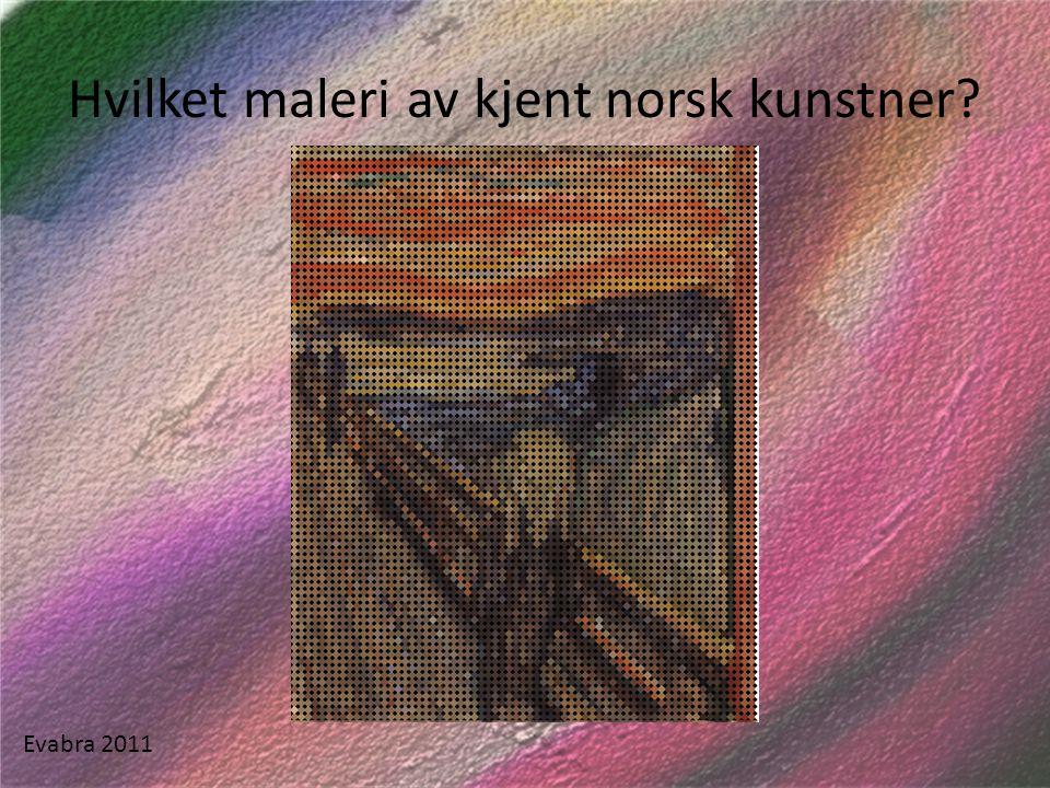 Et av hovedverkene når det gjelder nasjonalromantikk i Norge.