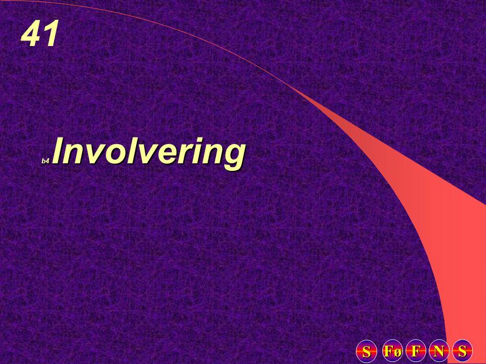 Fø FFFF NNNN SSSS SSSS 41 b4 Involvering
