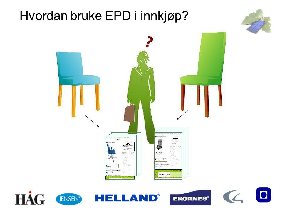 Hvordan bruke EPD i innkjøp?