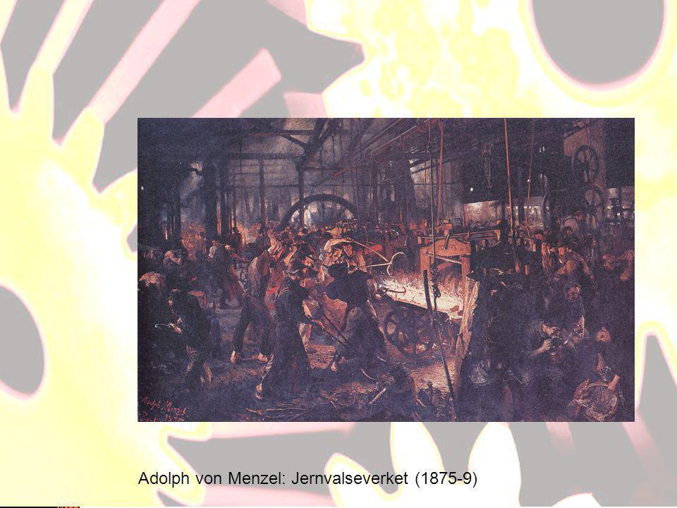 Adolph von Menzel: Jernvalseverket (1875-9)