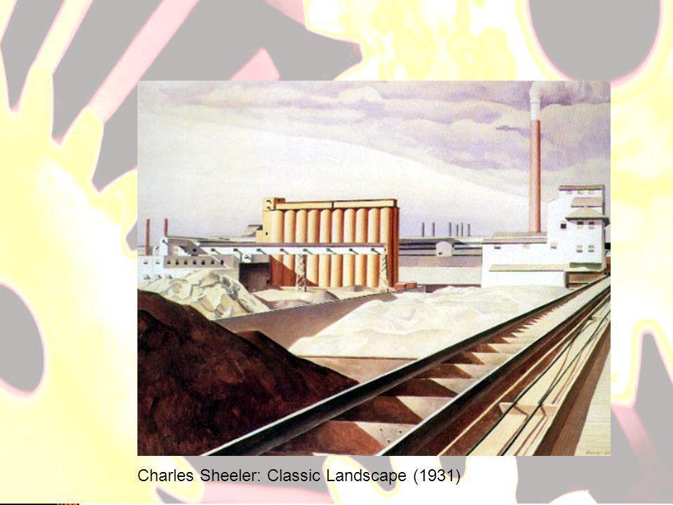 Charles Sheeler: Classic Landscape (1931)