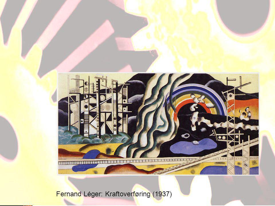Fernand Léger: Kraftoverføring (1937)