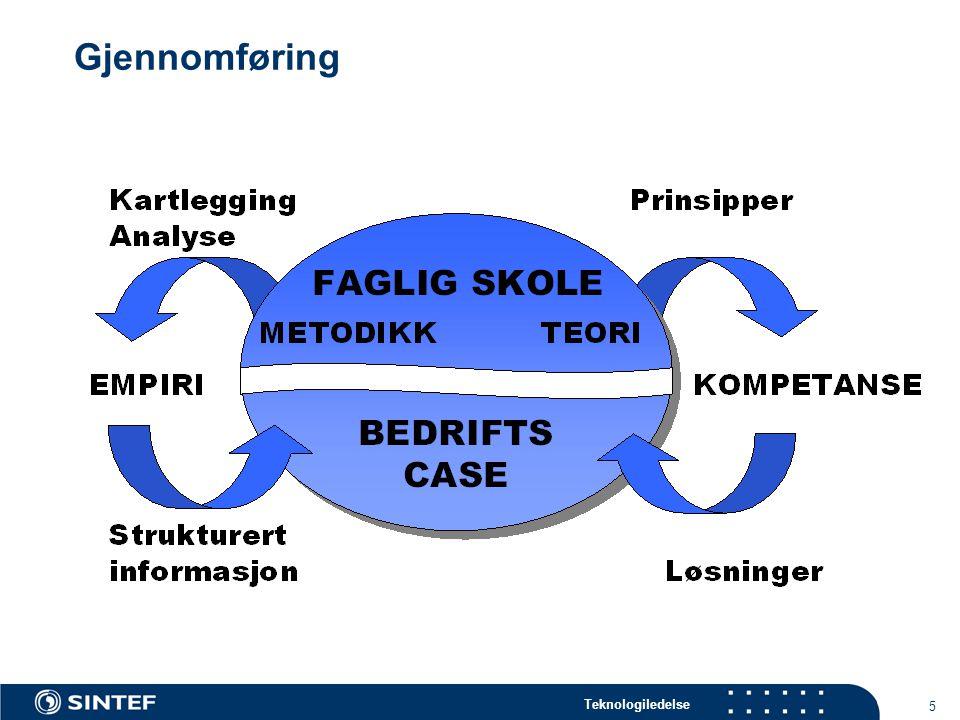 Teknologiledelse 5 Gjennomføring
