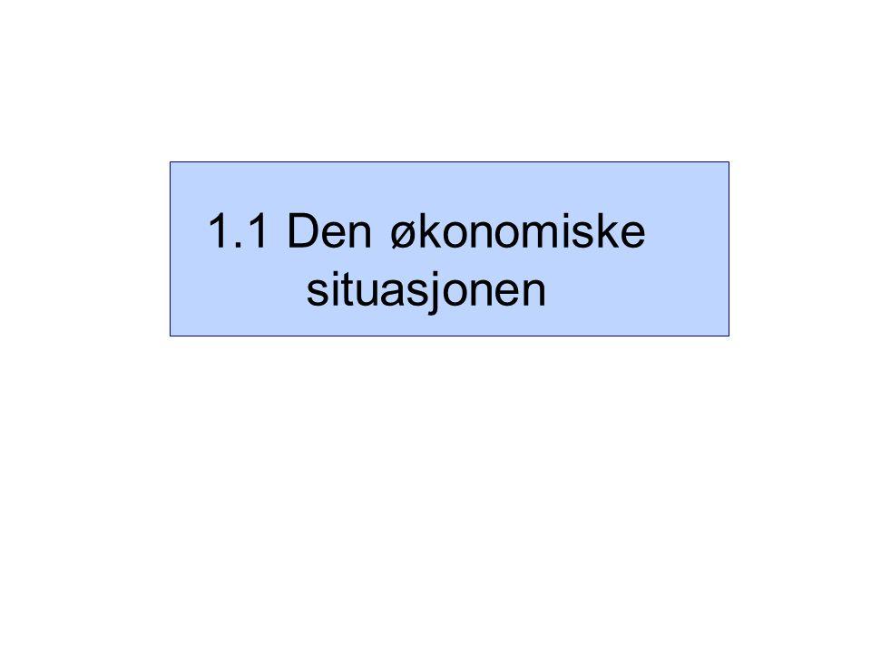 Figur 3.5 Husholdningenes forventningsindikator.1) 1.
