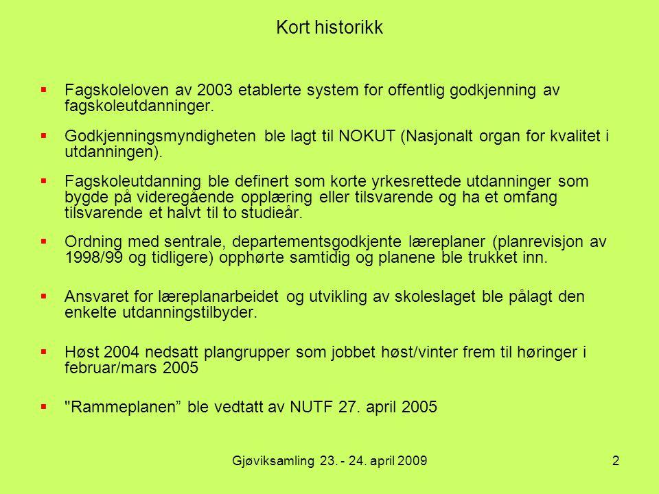 Læringsmål - læringsutbytte To hovedkategorier: Fagspesifikke Overførbare (Generic skills/transferable skills) Generelle ferdigheter (samarbeidsevner, evne til å ta ansvar, selvstendighet)