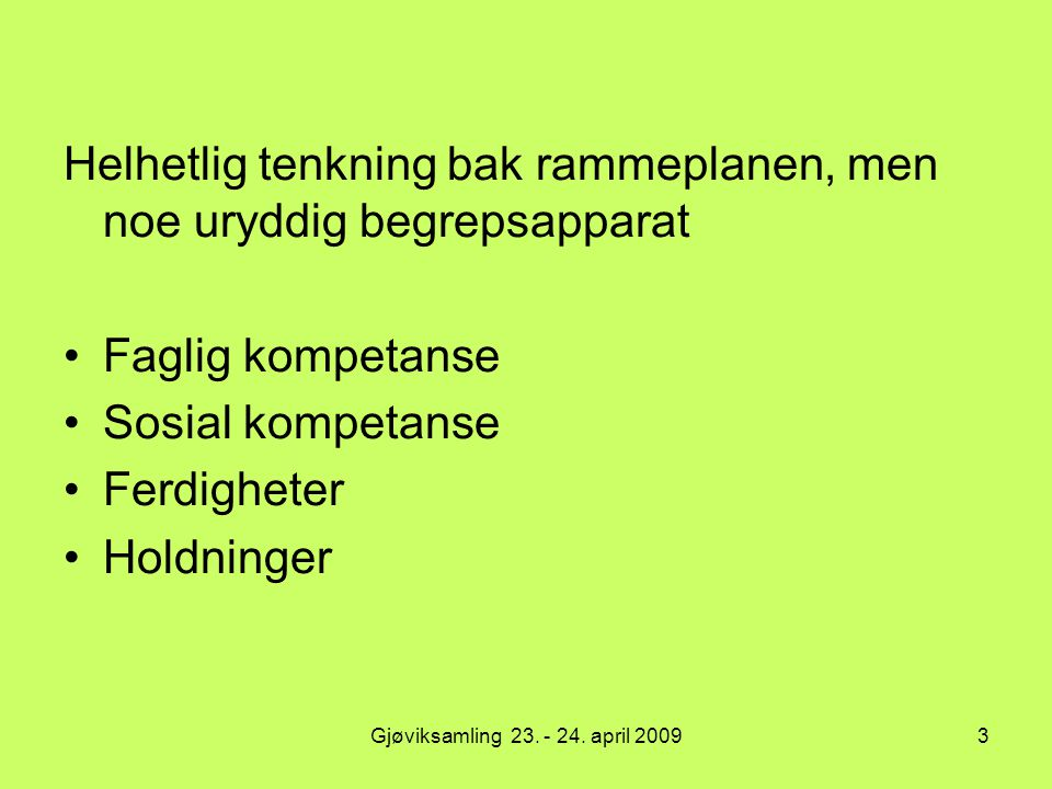 Jørgen Skaug i Fredrikstad 200814 Modulprinsippet  Et grunnleggende virkemiddel i reformen ved at grupper av fag og dermed også grupper av lærere bærer et felles ansvar for planleggingen og gjennomføringen av opplæringen.