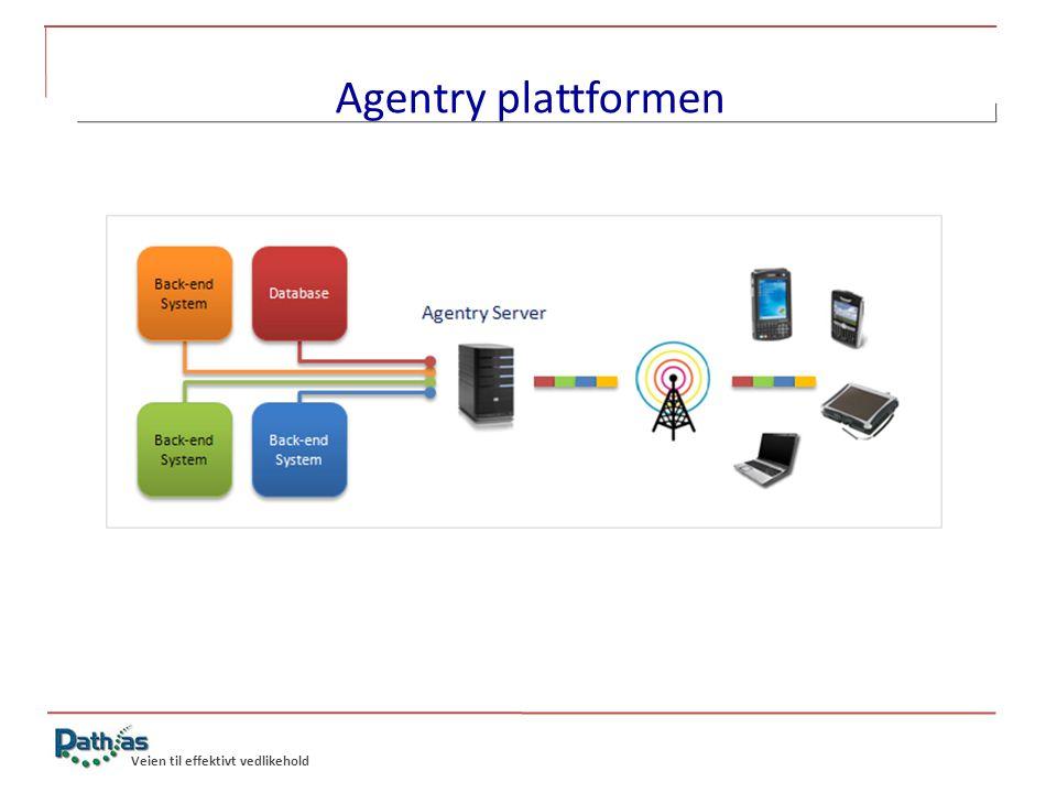 Veien til effektivt vedlikehold Agentry plattformen